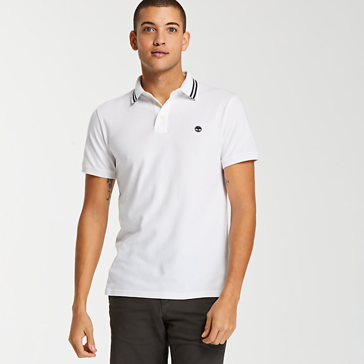 Men's Millers River Slim Fit Stretch Polo Shirt-