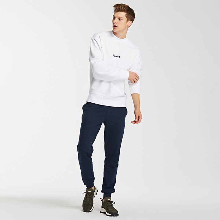 Men's Double Logo Crew Sweatshirt-