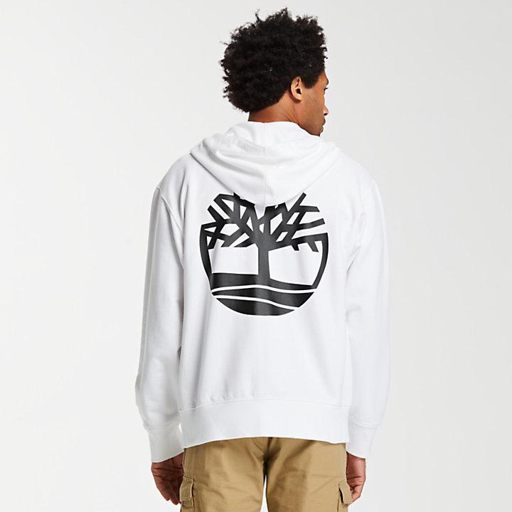 Men's Double Logo Full-Zip Sweatshirt-