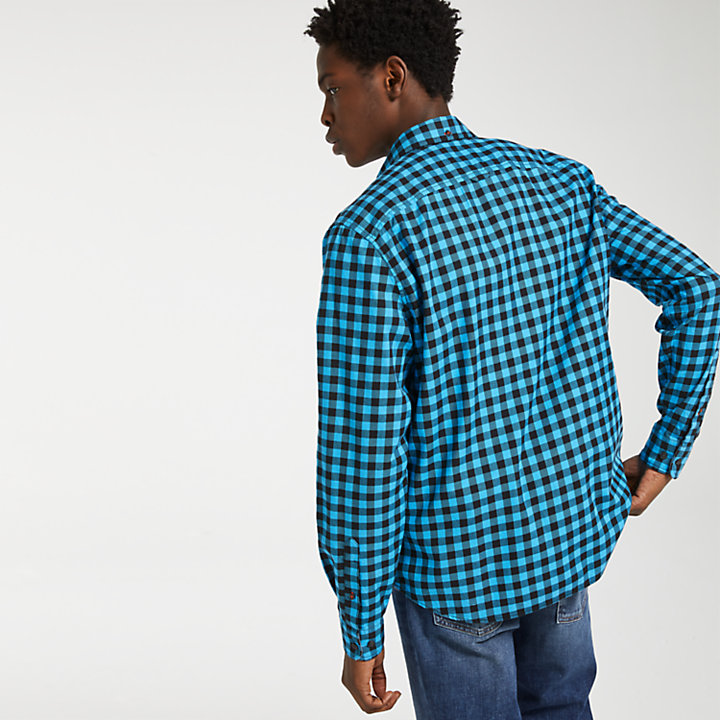 Men's Back River Slim Fit Plaid Shirt-