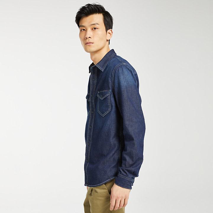 Men's Mumford River Slim Fit Denim Shirt-