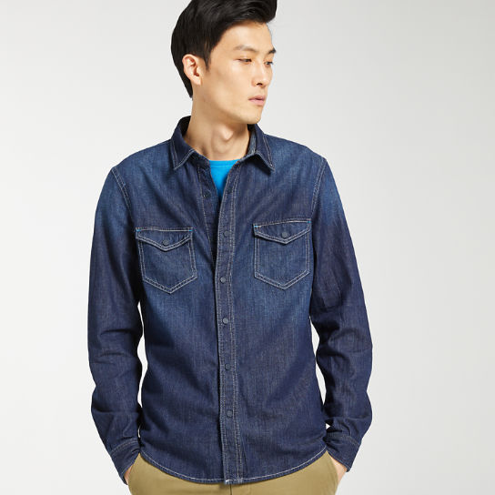 Men's Mumford River Slim Fit Denim Shirt