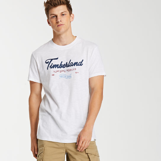 Men's Script Logo Graphic T-Shirt