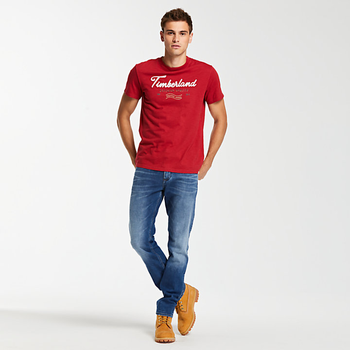 Men's Script Logo Graphic T-Shirt-