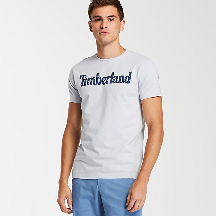 Men's Slim Fit Tropical Logo T-Shirt-
