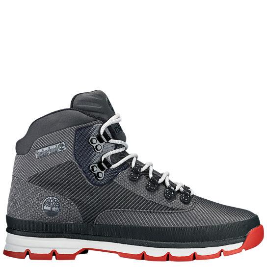 oficjalne zdjęcia aliexpress gładki Men's Jacquard Euro Hiker Boots