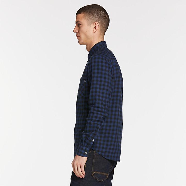 Men's Essential Slim Fit Plaid Shirt-