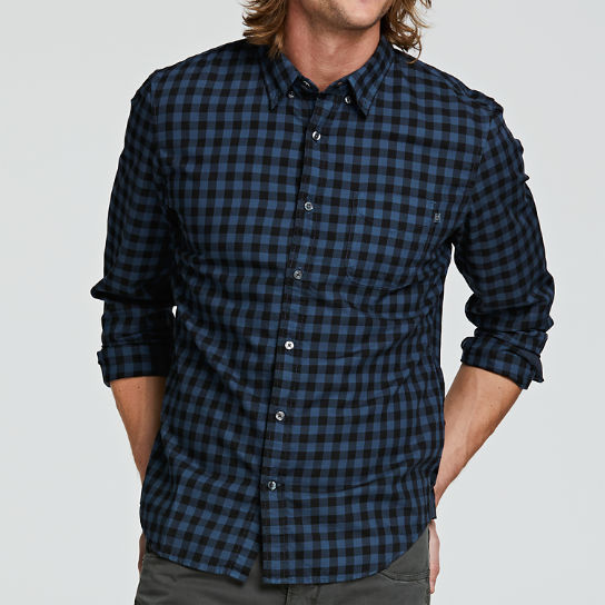 Men's Essential Slim Fit Plaid Shirt