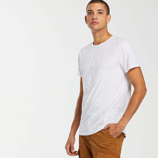 Men's Embossed Tree Logo T-Shirt