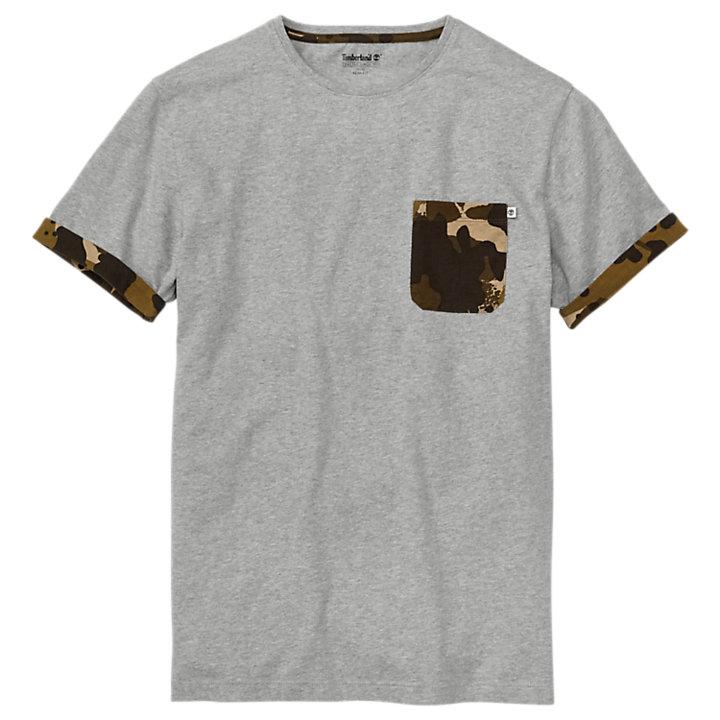 Men's Kennebec River Slim Fit Camo Pocket T-Shirt-