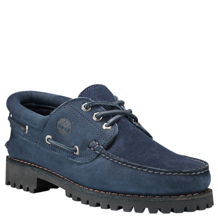 Men's Engineered Garments X Timberland 3-Eye Classic Lug Shoes-