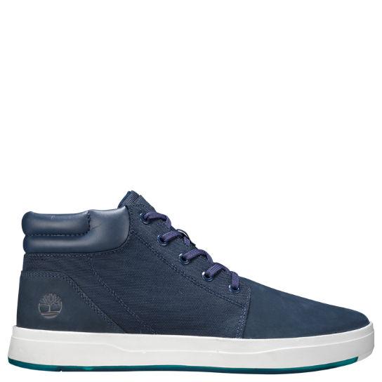 Men s Davis Square Mixed-Media Chukka Shoes 4be35b11367