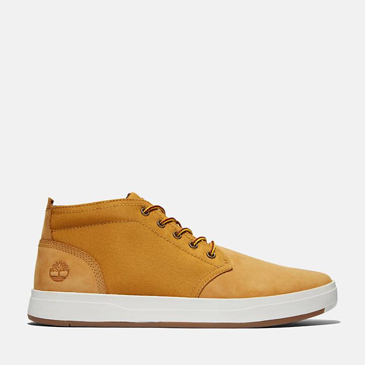 Men's Davis Square Mixed-Media Chukka Shoes-