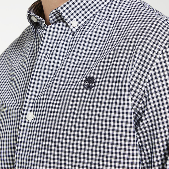 Men's Suncook River Gingham Shirt-