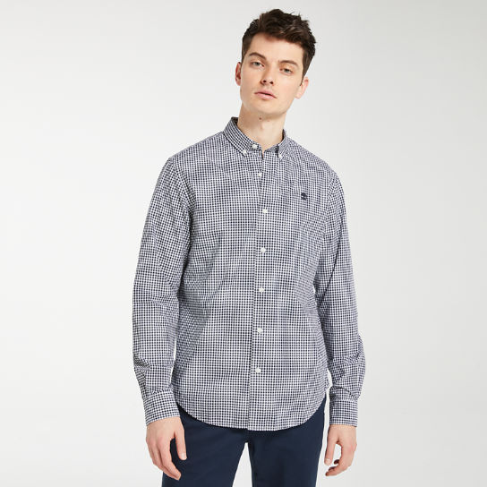 Men's Suncook River Gingham Shirt