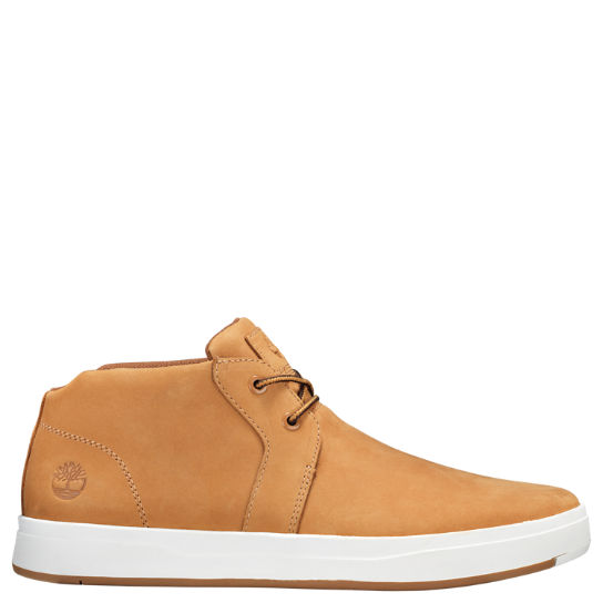 Men's Davis Square Leather Chukka Shoes