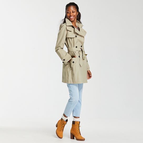 Women's Waterproof Trench Coat