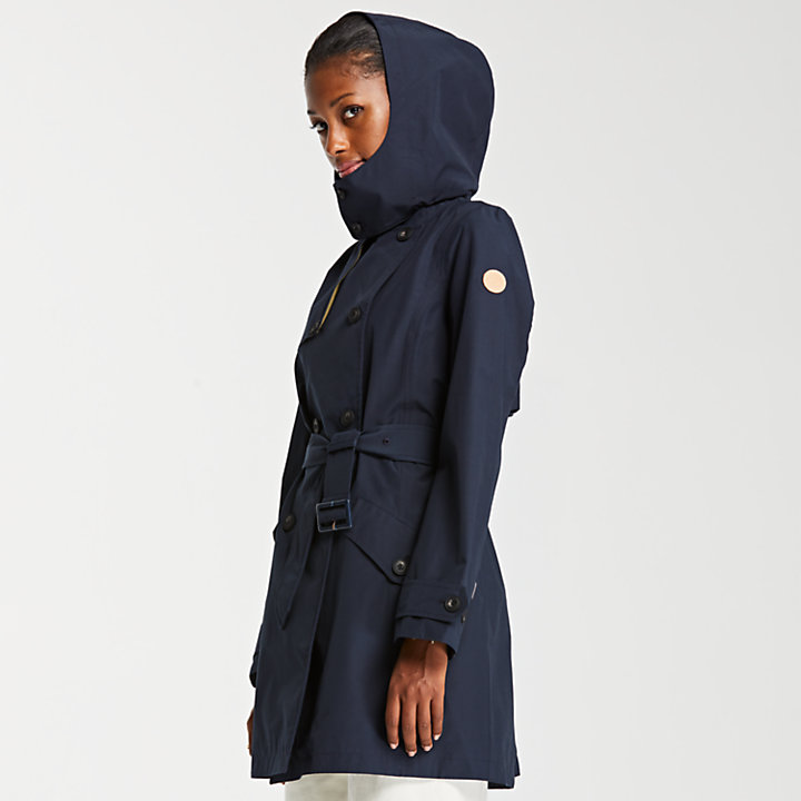 Women's Waterproof Trench Coat-
