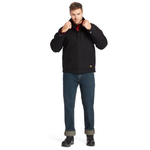Men's Timberland PRO® Baluster Insulated Canvas Work Jacket-