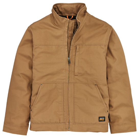 Men's Timberland PRO® Baluster Insulated Canvas Work Jacket