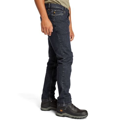 Men's Timberland PRO® Grit-N-Grind Modern Fit Flex Denim Work Pant-