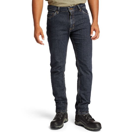 Men's Timberland PRO® Grit-N-Grind Modern Fit Flex Denim Work Pant