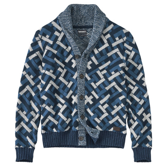Timberland | Men's Slim Fit Fairisle Cardigan Sweater