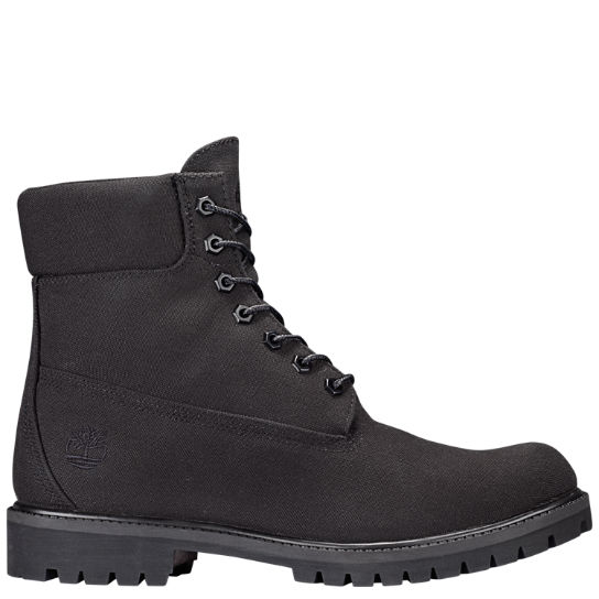 Men's 6-Inch Premium Canvas Boots