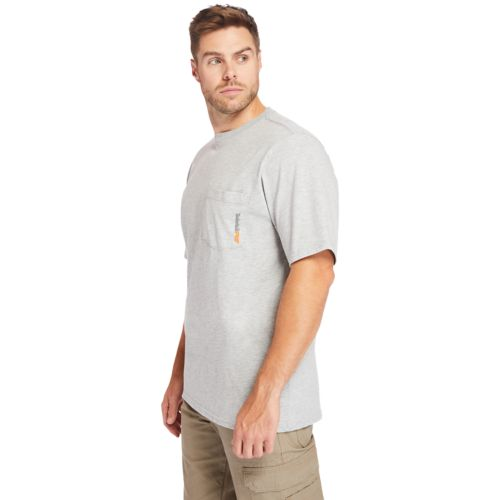Men's Timberland PRO® Big & Tall Base Plate Short-Sleeve T-Shirt-