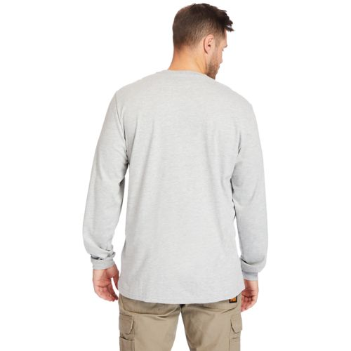 Men's Timberland PRO® Big & Tall Base Plate Long-Sleeve Wicking T-Shirt-