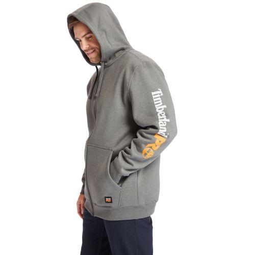 Men's Timberland PRO® Big & Tall Hood Honcho Full-Zip Hoodie-