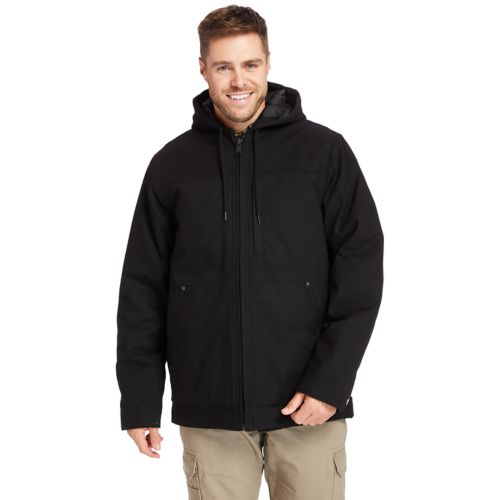 Men's Timberland PRO® Big & Tall Men's Baluster Insulated Canvas Work Jacket-