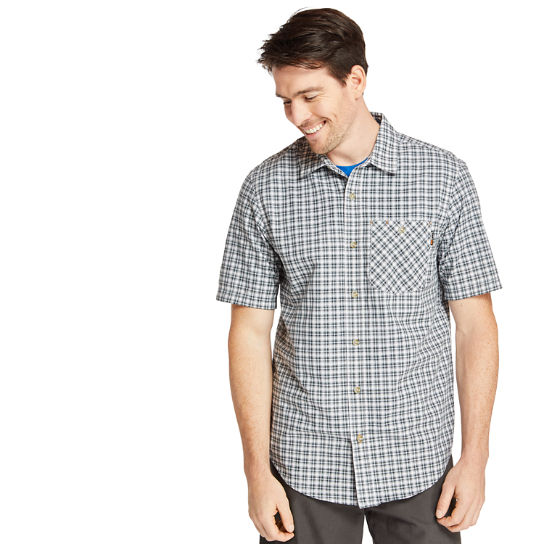 Men's Timberland PRO® Plotline Plaid Ripstop Work Shirt