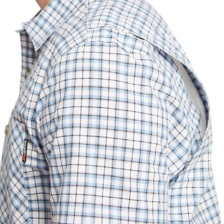 Men's Timberland PRO® Plotline Plaid Ripstop Work Shirt-