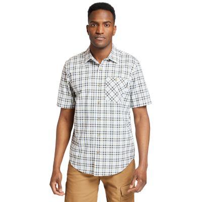 Men's Timberland PRO® Plotline Plaid Ripstop Work Shirt