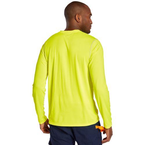 Men's Timberland PRO® Wicking Good Sport Long Sleeve T-Shirt-