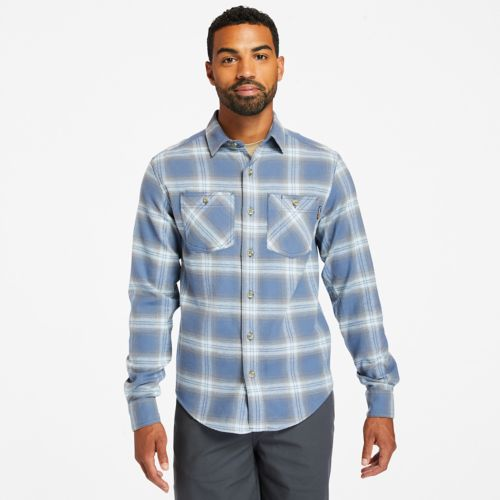 Men's Timberland PRO® Woodfort Flex Flannel Work Shirt-