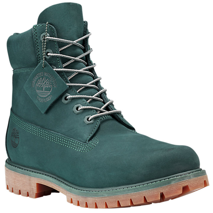 Men's Limited Release Green Jade 6-Inch Premium Waterproof Boots-