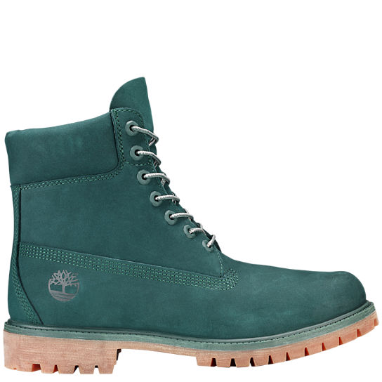Men's Limited Release Green Jade 6-Inch Premium Waterproof Boots