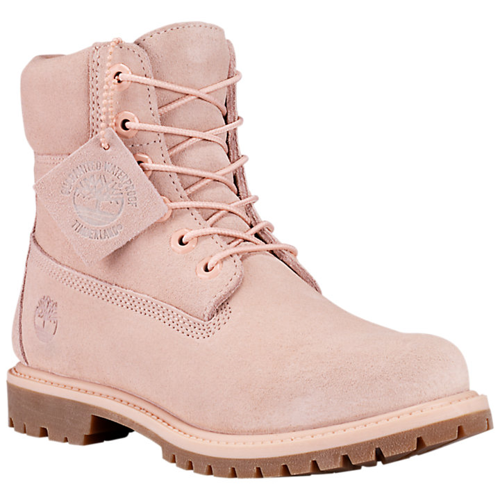 New Premium Waterproof Women Pink Timberland Boots Boutique