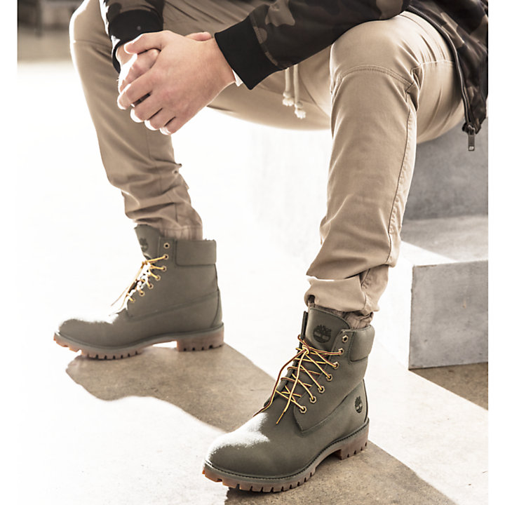 canvas timberland