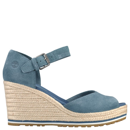 Women's Nice Coast Peep-Toe Wedge Sandals