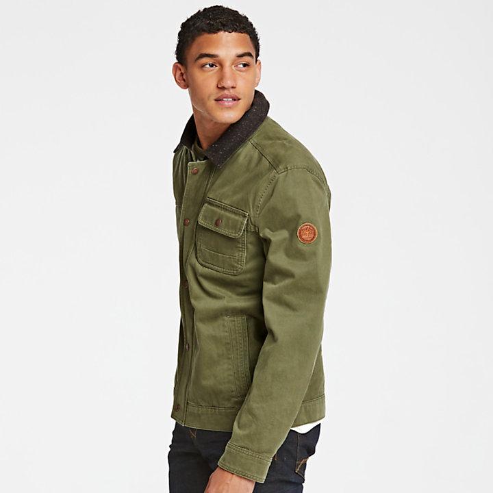 Men's Shelburne Twill Bomber Jacket-