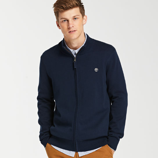 Men's Williams River Full-Zip Sweater