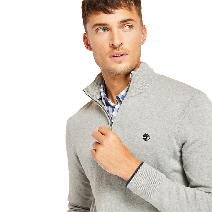 Men's Williams River Quarter-Zip Sweater-