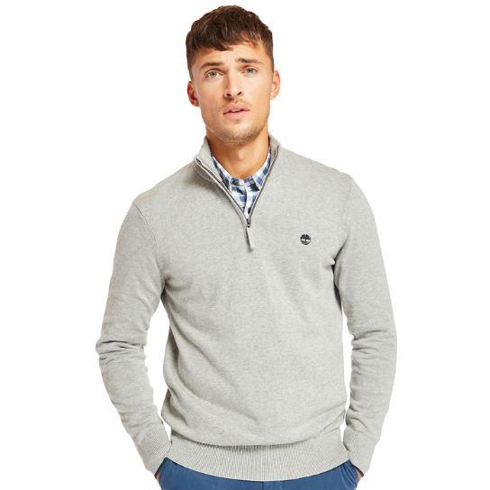 Men's Williams River Quarter Zip Sweater