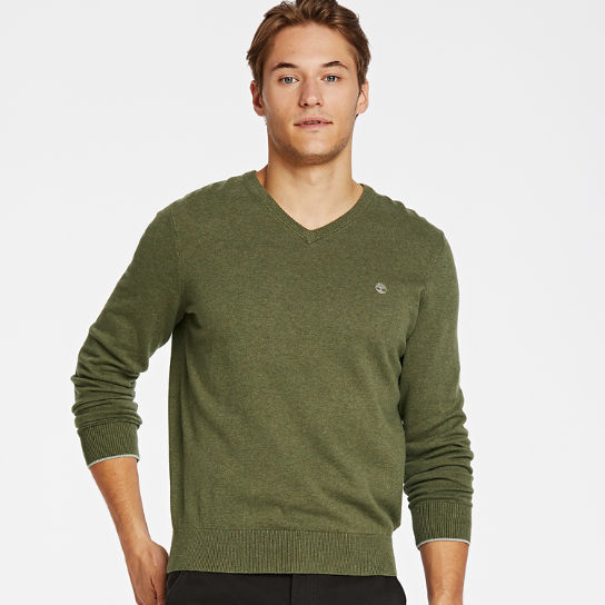Men's Williams River V-Neck Sweater