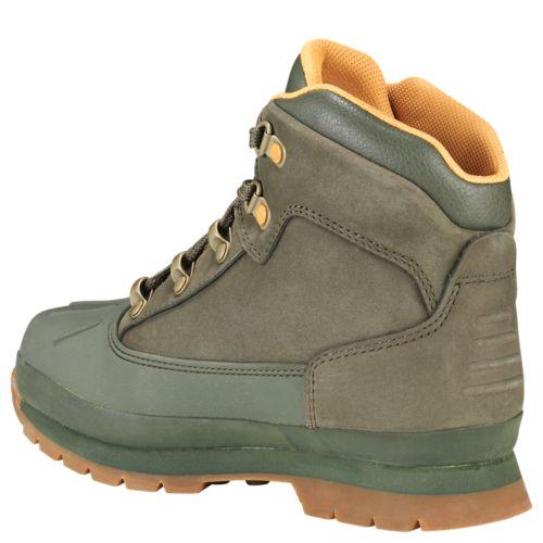 Junior Shell-Toe Euro Hiker Boots-
