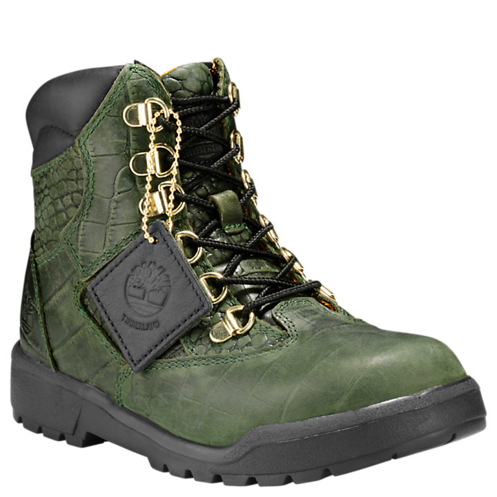 Youth Limited Release Crocodylian Waterproof 6-Inch Field Boots-