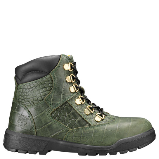 Youth Limited Release Crocodylian Waterproof 6-Inch Field Boots